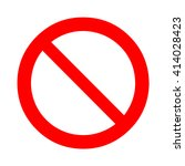 general prohibition  forbidden... | Shutterstock .eps vector #414028423