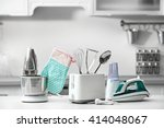 household and kitchen... | Shutterstock . vector #414048067