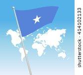 somalia flag | Shutterstock .eps vector #414102133