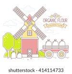 vector illustration of color... | Shutterstock .eps vector #414114733