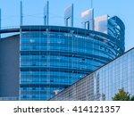 strasbourg france 15 sep 2015 ... | Shutterstock . vector #414121357