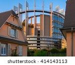 strasbourg  france  europe   15 ... | Shutterstock . vector #414143113