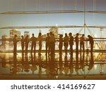 corporate business... | Shutterstock . vector #414169627