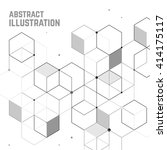 vector abstract background with ...