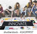 Small photo of Innovate Aspirations Invention Fresh Ideas Concept
