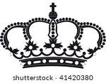 european crown | Shutterstock .eps vector #41420380