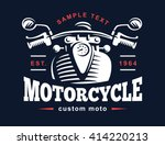 motorcycle logo illustration....