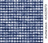 abstract indigo dyed variegated ... | Shutterstock . vector #414225073