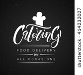template of catering company... | Shutterstock .eps vector #414232027