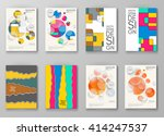 set of abstract design... | Shutterstock .eps vector #414247537