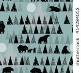 Forest Seamless Pattern....