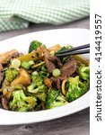 asian beef and broccoli stir...