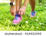 active lifestyle smartwatch... | Shutterstock . vector #414431443
