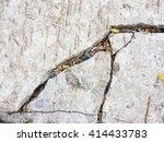 crack concrete texture... | Shutterstock . vector #414433783