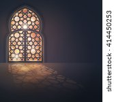 islamic vector design greeting...