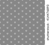 black seamless heart pattern | Shutterstock .eps vector #414476893