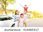 beautiful happy family portrait ... | Shutterstock . vector #414485317