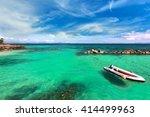 paradise beach in koh maiton... | Shutterstock . vector #414499963