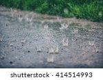 Heavy Rain  Rain Drops Falling...
