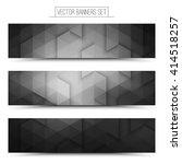 abstract vector technology gray ... | Shutterstock .eps vector #414518257