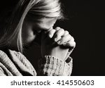 Praying Woman. Many Other...