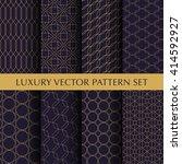 luxury vintage vector patterns...   Shutterstock .eps vector #414592927