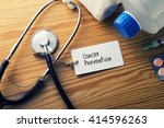 medical concept cancer... | Shutterstock . vector #414596263