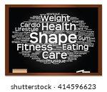 vector concept or conceptual...   Shutterstock .eps vector #414596623