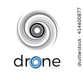 abstract drone quadrocopter ... | Shutterstock .eps vector #414600877
