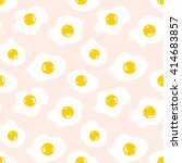 seamless pattern with eggs | Shutterstock .eps vector #414683857