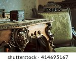 details of vintage furniture | Shutterstock . vector #414695167