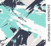 grunge seamless texture pattern ... | Shutterstock .eps vector #414696193