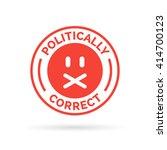 politically correct icon.... | Shutterstock .eps vector #414700123