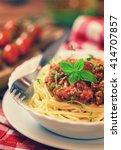 Freshly Made Spaghetti Bolognese