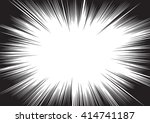 background of radial lines for... | Shutterstock .eps vector #414741187