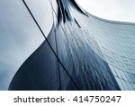 glass wall in modern office... | Shutterstock . vector #414750247