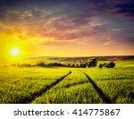 vintage retro effect filtered... | Shutterstock . vector #414775867