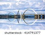 Jk Bridge In Brasilia  Capital...