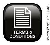 terms and conditions icon | Shutterstock .eps vector #414826303