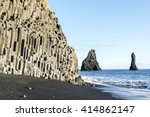 Famous Black Sand Beach And Th...