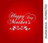vector illustration or greeting ... | Shutterstock .eps vector #414882703