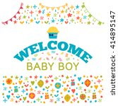 welcome baby boy. baby boy