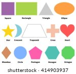 Basic Shapes For Kids. Learn 2...