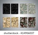 flyer design templates. set of...   Shutterstock . vector #414906037