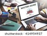 Small photo of Masters Degree Education Knowledge Concept