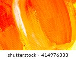 hand drawn oil painting.... | Shutterstock . vector #414976333
