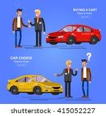 design concept of choice car... | Shutterstock .eps vector #415052227