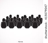 audience  | Shutterstock .eps vector #415079047