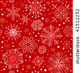 red seamless ornament with... | Shutterstock .eps vector #41512252