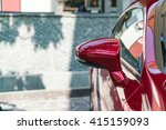 side rear view mirror on a... | Shutterstock . vector #415159093